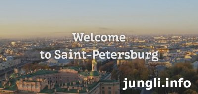 Welcome to St. Petersburg!